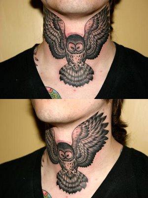 La chouette tatouages tattoo et tatoo - Signification tatouage chouette ...