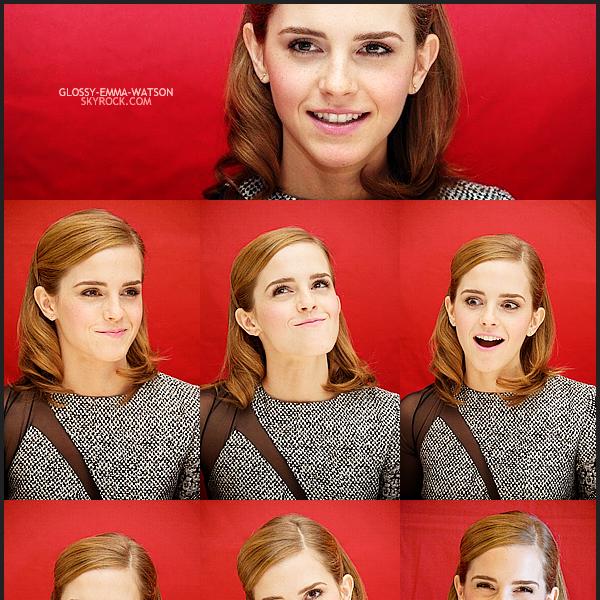 5.6.13 • Emma zúčastnil tiskové konference k Bling Ring. Pro mě, oblečení a účes Emma jsou naprosto dokonalé. Co si myslíte?